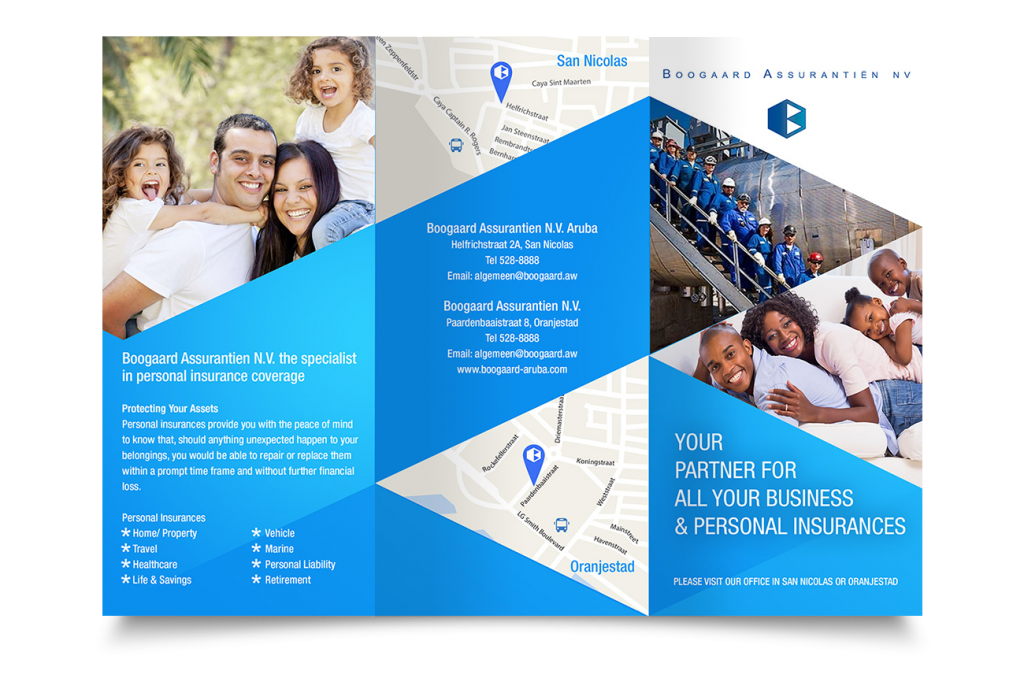 Brochure design for Boogaard