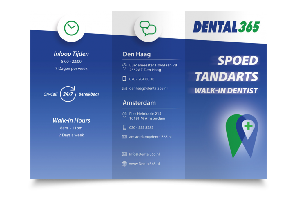 Brochure design Dental365