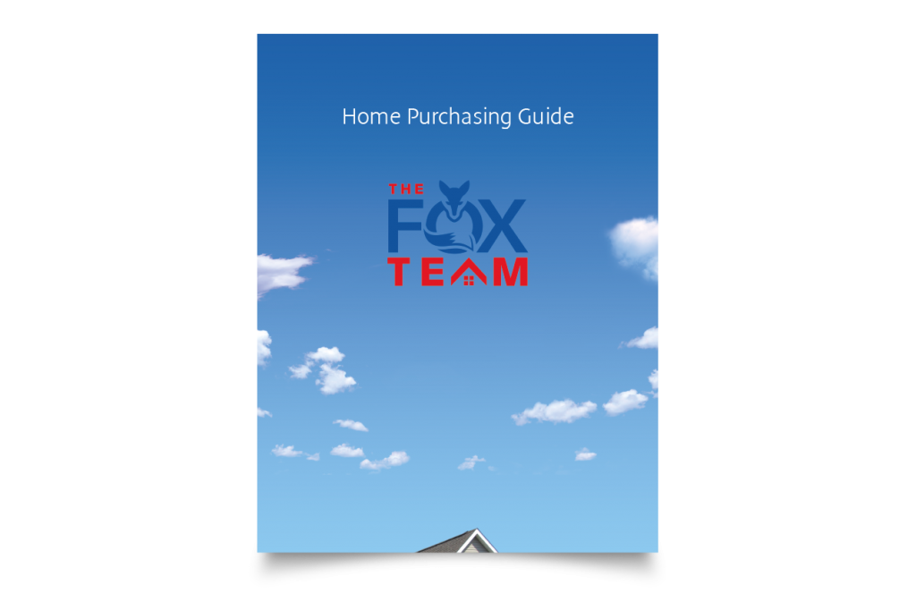 Cover design for brochure The Fox Team
