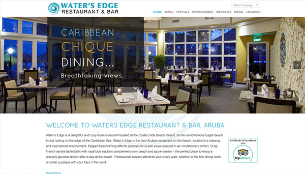 Web design Waters Edge